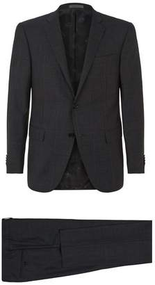 Corneliani Check Wool Two-Piece Suit