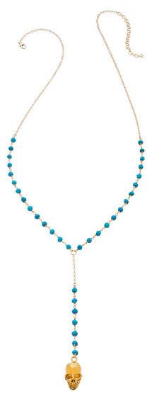Heather Hawkins - Black Star Y Necklace