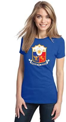 Co Ann Arbor T-shirt PHILIPPINES COAT OF ARMS Ladies' T-shirt / REPUBLIKA NG PILIPINAS Tee Shirt