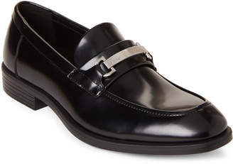 Calvin Klein Black Craig Leather Loafers