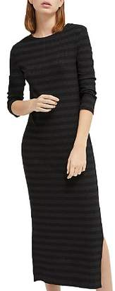 French Connection Rochelle Striped Midi Dress