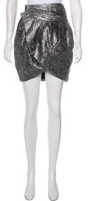Isabel Marant Metallic Knee-Length Skirt
