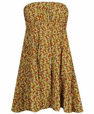 Floral Collage Dress