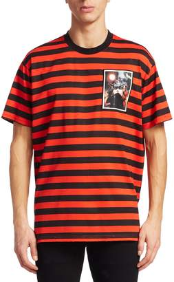 Givenchy Men's Graphic Stripe T-Shirt