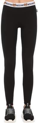 Moschino Underbear Cotton Jersey Leggings
