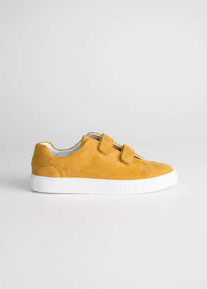 And other stories Duo Scratch Strap Sneakers