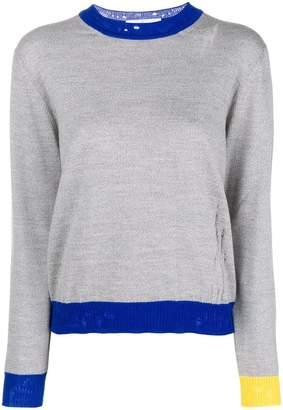Golden Goose contrast trim jumper