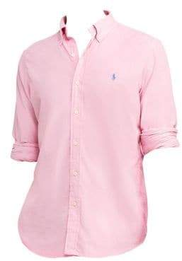Polo Ralph Lauren Classic Fit Cotton Long Sleeve Shirt