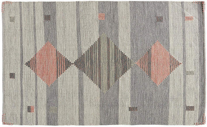 Brienne Rug - Gray/Pink - 5'x8'
