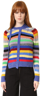 Marc Jacobs Cashmere Stripe Sweater $425 thestylecure.com