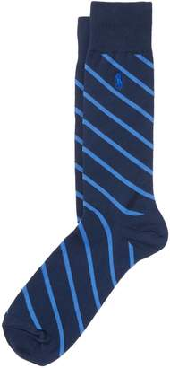 Ralph Lauren Repp-Stripe Trouser Socks