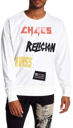 Religion Abyss Raw Patch Sweatshirt