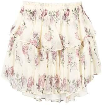 LoveShackFancy Love Shack Fancy ruffle mini skirt