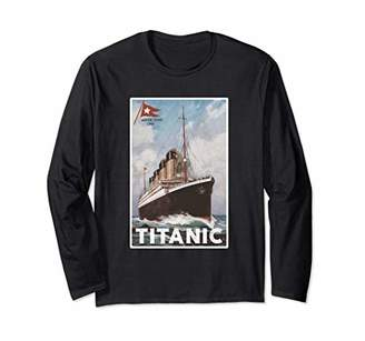 Great Titanic Costume Long Sleeve Gift 1912 Atlantic Ocean