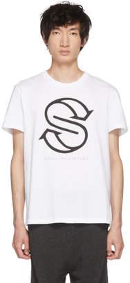 Stella McCartney White Idol Logo T-Shirt