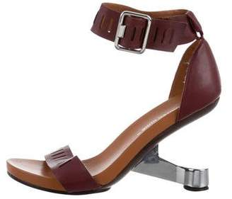 United Nude UN Leather Platform Sandals