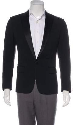 DSQUARED2 Wool Peak-Lapel Tuxedo Jacket