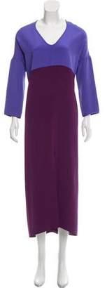 Zero Maria Cornejo Eloise Silk Dress