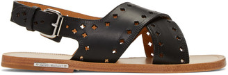 Isabel Marant Black Jerys Sandals $385 thestylecure.com