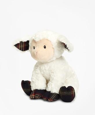 Brooks Brothers Gund Tartan Stuffed Lamb