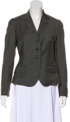 Paul Smith Fitted Wool Blazer