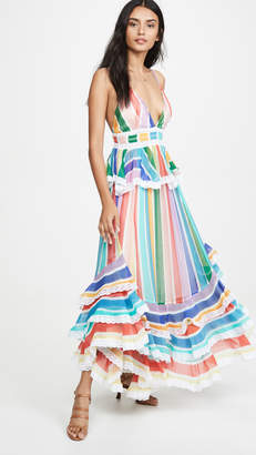 Rococo Sand Rainbow Long Dress