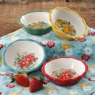 THE PIONEER WOMAN The Pioneer Woman Vintage Floral Mini Pie Plate Set, Set of 4