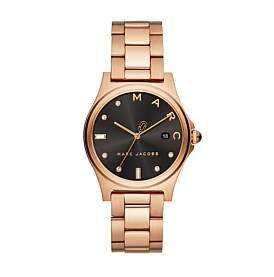 Marc by Marc Jacobs Henry Rose Gold-Tone Watch