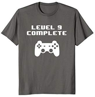 Level 9 Complete 9th Birthday 2009 T-Shirt