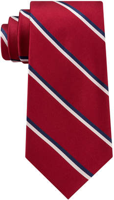 Club Room Men's Adam Twill Stripe Silk Tie, Created for Macy's
