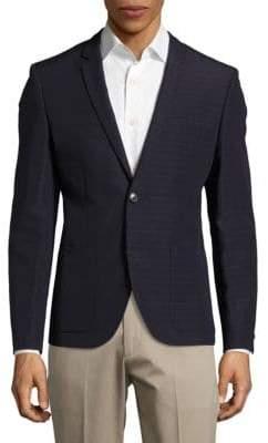 Alesono Modern Fit Linen-Blend Blazer