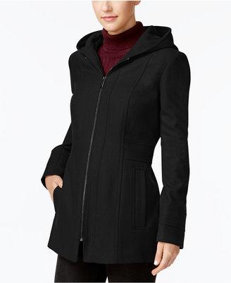 London Fog Hooded Walker Coat $195 thestylecure.com