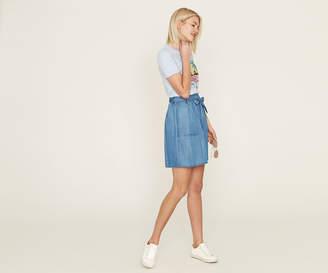 Oasis Tencel Paperbag Skirt