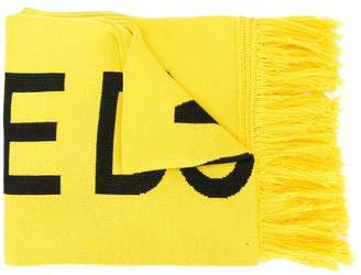 Off-White fire tape scarf