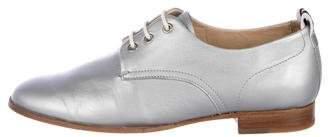 Rag & Bone Leather Round-Toe Oxfords