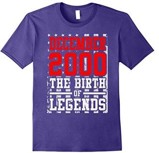 2000 DECEMBER The Birth Of Legends Christmas 17 Years Old