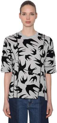 McQ (マックキュー) - MCQ ALEXANDER MCQUEEN オーバーサイズ パッチワークジャージーTシャツ