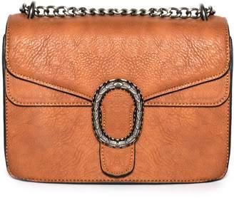 8414fc0f94b3 Missy Empire Missyempire Maisie Tan Chain Cross Body Bag