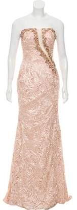 Jovani Embellished Strapless Dress w/ Tags