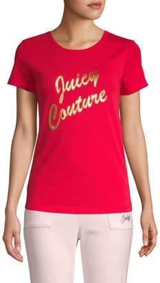 Juicy Couture Logo Short-Sleeve Tee