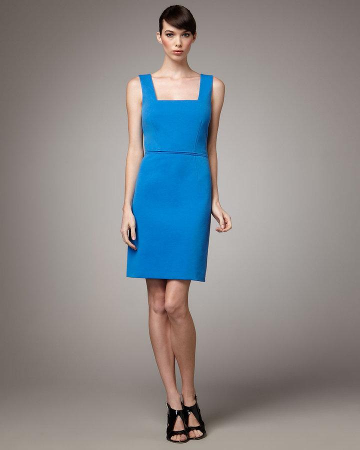 Rachel Roy Back-Cutout Dress