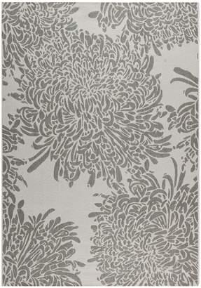 "Martha Stewart Chrysanthemum 5'3"" x 7'7"" Rug"