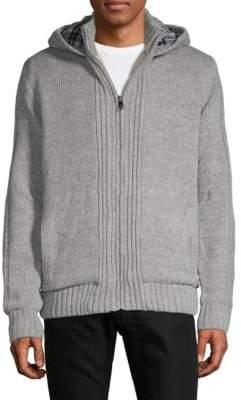 Knit Zip Hoodie