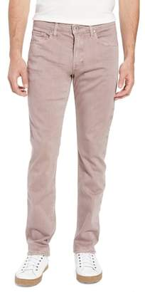 Paige Federal Slim Straight Fit Jeans