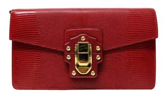 Dolce & Gabbana Lucia Red Exotic leathers Clutch bags