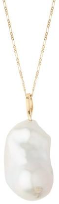 Nadia Shelbaya - 210 Grande Baroque Pearl & 18kt Gold Necklace - Womens - Pearl