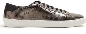 Saint Laurent Court Classic low-top leather trainers
