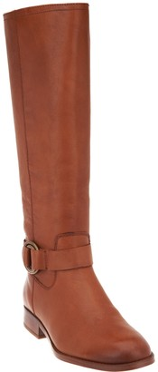 Frye & Co. & co. Medium Calf Leather Side Zip Tall Boots - Adelaide