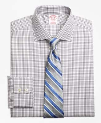 Brooks Brothers Madison Classic-Fit Dress Shirt, Non-Iron Glen Plaid