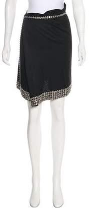 Ann Demeulemeester Knee-Length Wrap Skirt